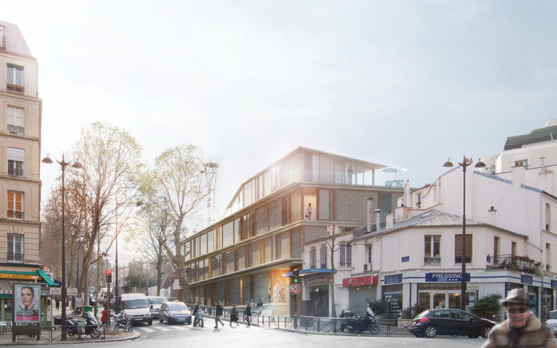 Projets avant 2011 bnr architectes armand nouvet for Projet d architecture
